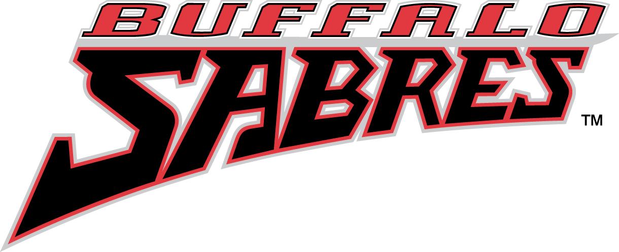 Buffalo Sabres Logo Wordmark Logo (1996/97-2005/06) -  SportsLogos.Net