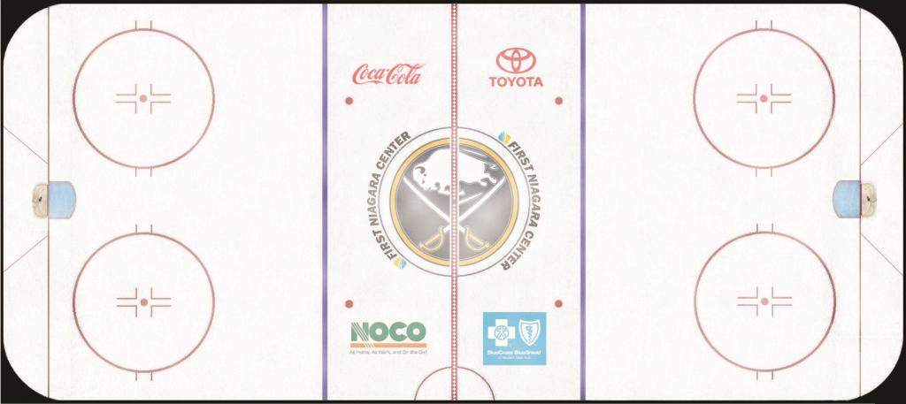 Buffalo Sabres Playing Surface Playing Surface (2011/12-2015/16) - First Niagara Center playing surface SportsLogos.Net