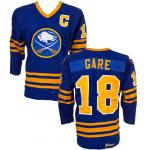 Buffalo Sabres (1981) Buffalo Sabres Danny Gare game worn road blue uniform from the 1980/81 season