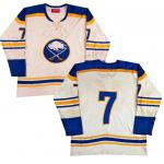 Buffalo Sabres (1975) Buffalo Sabres Rick Martin game worn home white uniform from the 1974/75 season