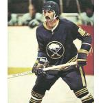 Buffalo Sabres (1977) Jocelyn Guevremont wearing Buffalo Sabres road blue uniform during 1976/77 season