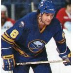 Buffalo Sabres (1981) Tony McKegney wearing Buffalo Sabres road uniform during 1980-81 season