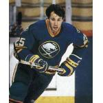 Buffalo Sabres (1986) Dave Andreychuk wearing Buffalo Sabres road uniform during 1985-86 season