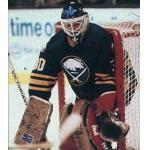 Buffalo Sabres (1989) Clint Malarchuk wearing Buffalo Sabres road uniform during 1988-89 season