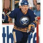 Buffalo Sabres (1991) Dale Hawerchuk wearing Buffalo Sabres road uniform during 1990-91 season