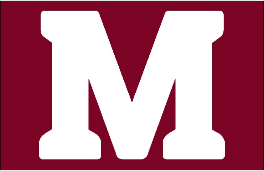 Montreal Maroons Logo Jersey Logo (1925/26-1934/35) -  SportsLogos.Net