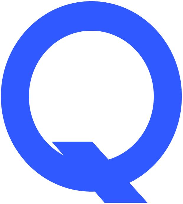 Quebec Athletics Logo Primary Logo (1919/20) - A blue Q SportsLogos.Net