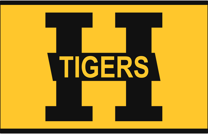Hamilton Tigers Logo Jersey Logo (1923/24-1924/25) - Home and Road jersey logo SportsLogos.Net