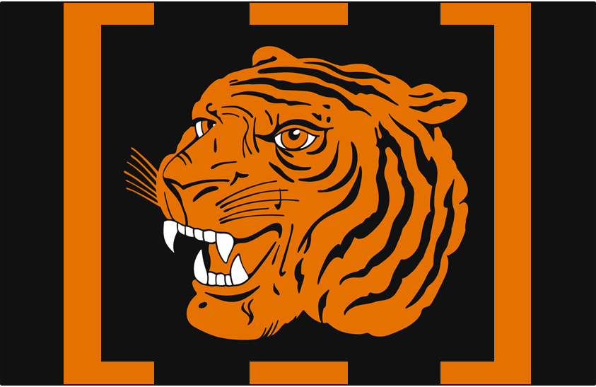 Hamilton Tigers Logo Jersey Logo (1920/21) - Home and Road jersey logo SportsLogos.Net