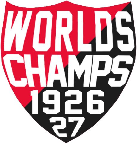Ottawa Senators Logo Champion Logo (1926/27) - Ottawa Senators 1926-27 World's Champs (Stanley Cup) shield logo SportsLogos.Net