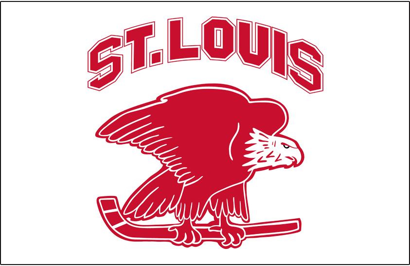 St. Louis Eagles Jersey Logo - National Hockey League (NHL) - Chris ... a8e57e6cbed3