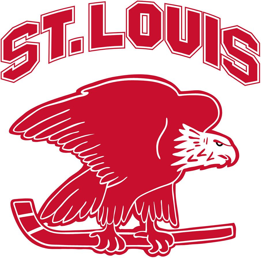 St. Louis Eagles Logo Primary Logo (1934/35) -  SportsLogos.Net
