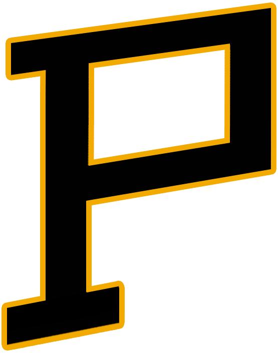 Pittsburgh Pirates Logo Primary Logo (1925/26-1927/28) - Slanted black P on yellow SportsLogos.Net