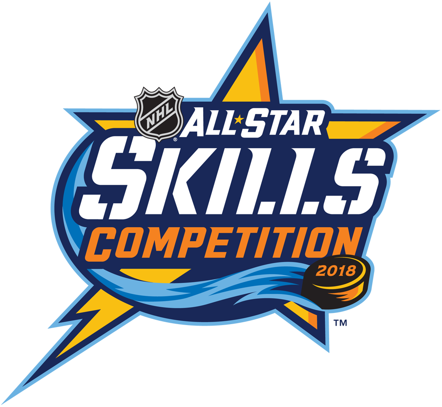 NHL All-Star Game Logo Event Logo (2017/18) - 2018 NHL All-Star Game Skills Competition Logo - Tampa Bay, FL SportsLogos.Net