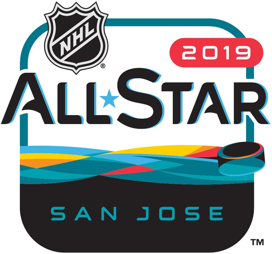 NHL All-Star Game Logo Primary Logo (2018/19) - 2019 NHL All-Star Game Logo, played at San Jose SportsLogos.Net