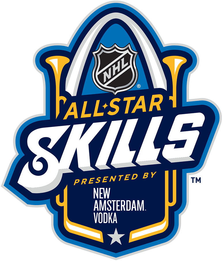 NHL All-Star Game Logo Event Logo (2019/20) - 2020 NHL All-Star Skills Competition logo, held in St Louis on January 24, 2020 SportsLogos.Net