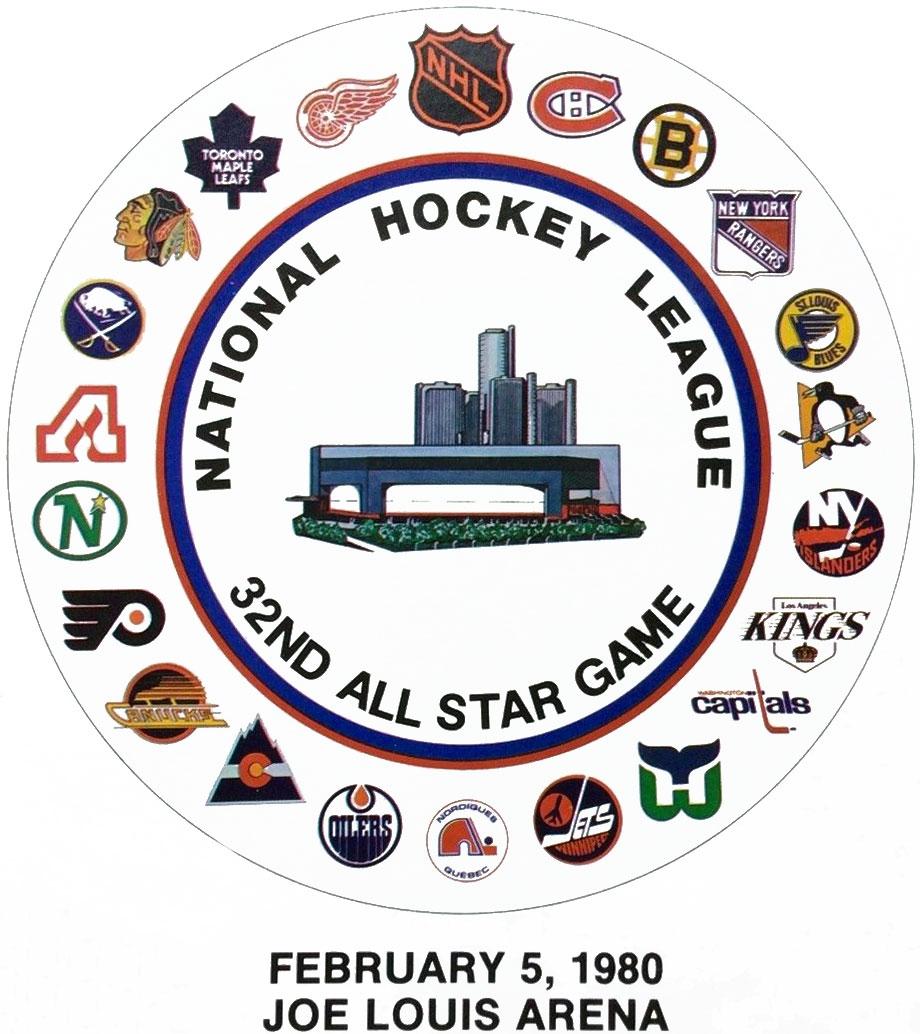 NHL All-Star Game Logo Primary Logo (1979/80) - 1980 NHL All-Star Game logo - game held in Detroit, MI SportsLogos.Net