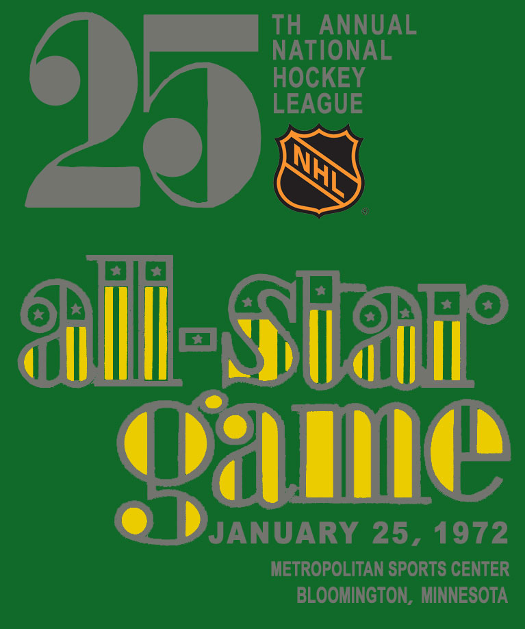 NHL All-Star Game Logo Primary Logo (1971/72) - 1972 NHL All-Star Game logo - game played in Bloomington, MN SportsLogos.Net