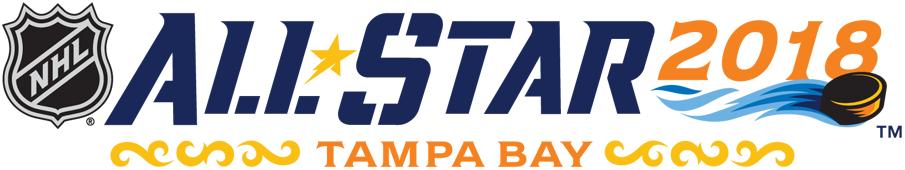 NHL All-Star Game Logo Wordmark Logo (2017/18) - 2018 NHL All-Star Game Wordmark Logo - Tampa Bay, FL SportsLogos.Net