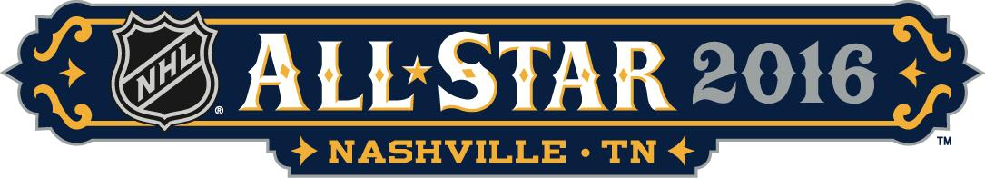 NHL All-Star Game Logo Wordmark Logo (2015/16) -  SportsLogos.Net
