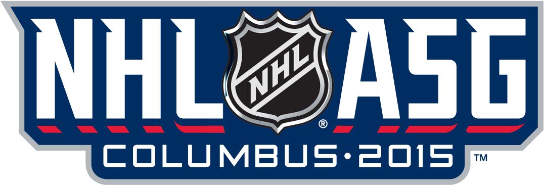 NHL All-Star Game Logo Wordmark Logo (2014/15) -  SportsLogos.Net