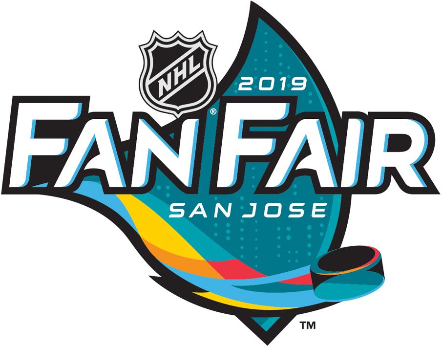 NHL All-Star Game Logo Event Logo (2018/19) - 2019 NHL All-Star Fan Fair Logo - San Jose SportsLogos.Net
