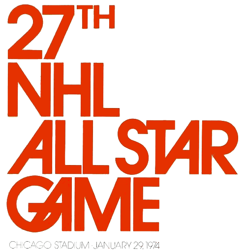 NHL All-Star Game Logo Primary Logo (1973/74) - 1974 NHL All-Star Game logo - game played in Chicago, IL SportsLogos.Net