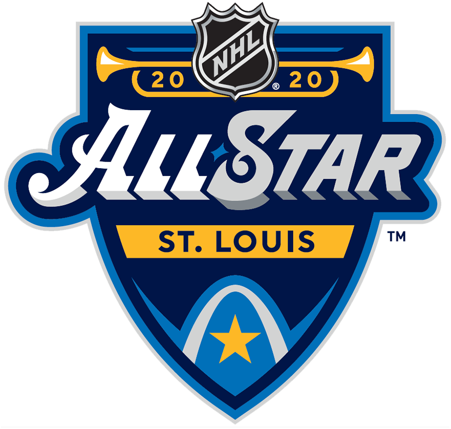 NHL All-Star Game Logo Primary Logo (2019/20) - 2020 NHL All-Star Game Logo hosted by St Louis Blues SportsLogos.Net