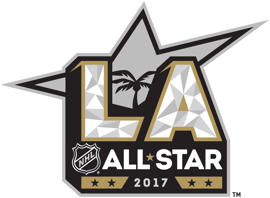NHL All-Star Game Logo Primary Logo (2016/17) - 2017 NHL All-Star game, played at Staples Center in Los Angeles California SportsLogos.Net