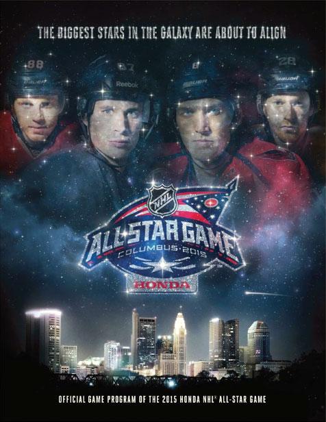 NHL All-Star Game Program Program (2014/15) - 2015 NHL All-Star Game program cover - game held in Columbus, OH SportsLogos.Net