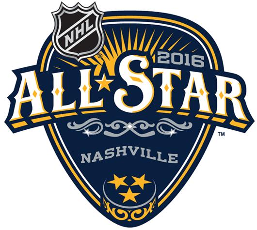 NHL All-Star Game Logo Primary Logo (2015/16) - 2016 NHL All-Star Game - Nashville SportsLogos.Net