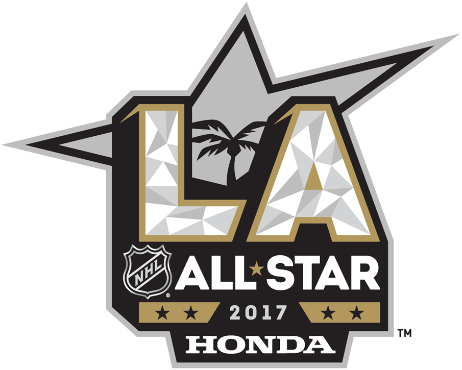 NHL All-Star Game Logo Sponsored Logo (2016/17) - 2017 NHL All-Star Game Logo sponsored by Honda - held in Los Angeles SportsLogos.Net