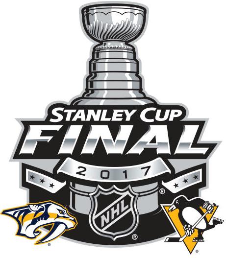 Stanley Cup Playoffs Logo Finals Matchup Logo (2016/17) - 2017 Stanley Cup Final match-up logo - Preds VS Pens SportsLogos.Net
