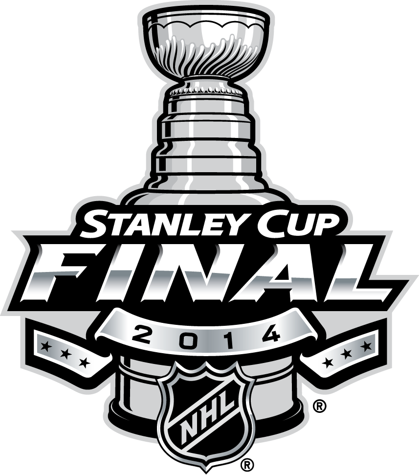 Stanley Cup Playoffs Logo Finals Logo (2013/14) - 2014 Stanley Cup Final logo - Los Angeles Kings VS New York Rangers - Los Angeles Kings defeat the New York Rangers 4-1  SportsLogos.Net