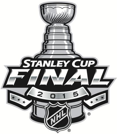 Stanley Cup Playoffs Logo Finals Logo (2014/15) - 2015 Stanley Cup Final logo - Chicago Blackhawks VS Tampa Bay Lightning - Chicago won series 4-2 SportsLogos.Net