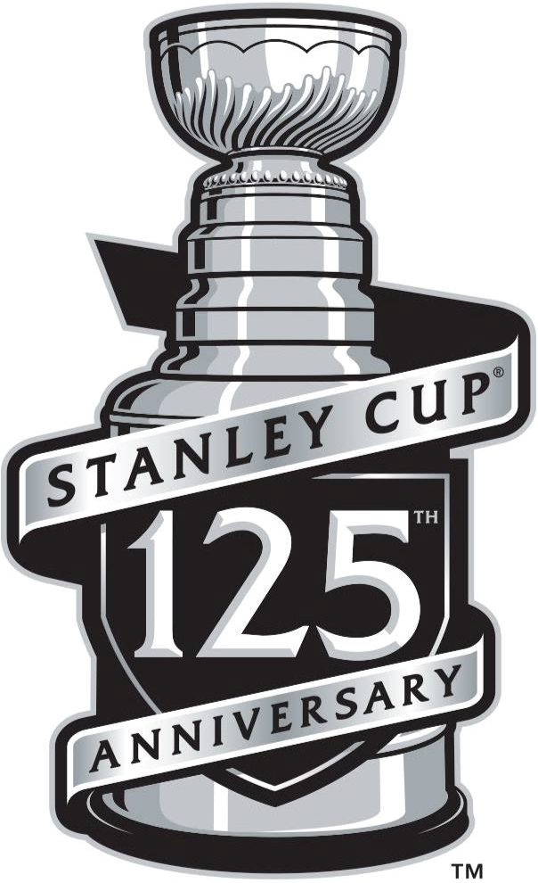 Stanley Cup Playoffs Anniversary Logo National Hockey League Nhl