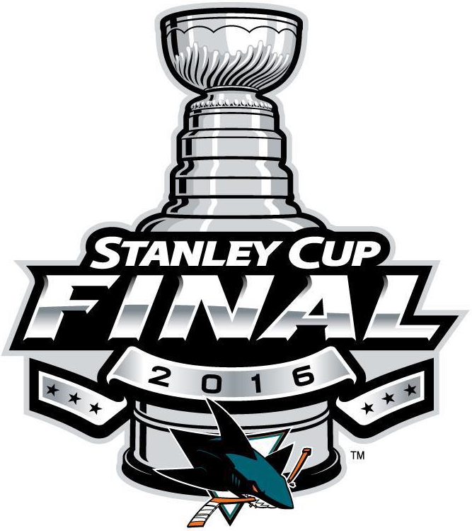 Stanley Cup Playoffs Logo Alternate Logo (2015/16) - San Jose Sharks 2016 Stanley Cup Final Logo SportsLogos.Net