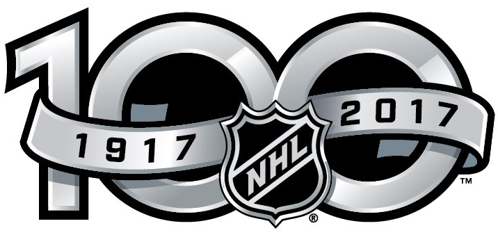 National Hockey League Logo Anniversary Logo (2016/17) - NHL Centennial Anniversary logo SportsLogos.Net
