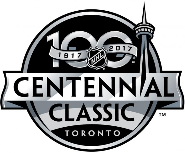 National Hockey League Logo Event Logo (2016/17) - The NHL Centennial Classic (branded as the Scotiabank NHL Centennial Classic for sponsorship reasons) was a regular season outdoor National Hockey League (NHL) game that was held on January 1, 2017. The game featured the Toronto Maple Leafs taking on the Detroit Red Wings at BMO Field (renamed Exhibition Stadium due to sponsorship rights conflicts).  SportsLogos.Net