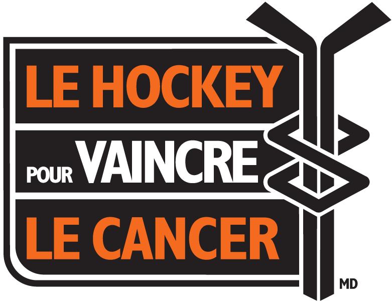 National Hockey League Logo Charity Logo (1999/00-2004/05) - Hockey Fights Cancer logo - French version SportsLogos.Net