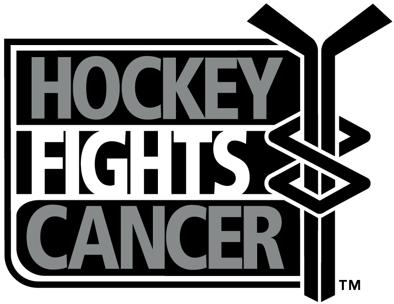 National Hockey League Logo Charity Logo (2005/06-Pres) - Hockey Fights Cancer logo SportsLogos.Net