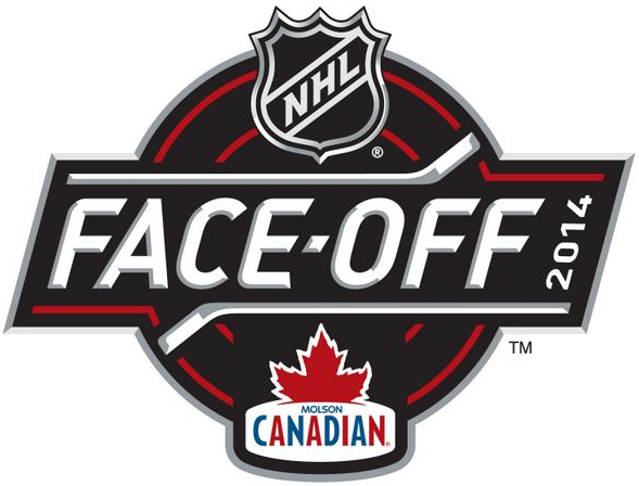 National Hockey League Logo Event Logo (2014/15) - Molson Canadian NHL Face-off 2014 logo SportsLogos.Net