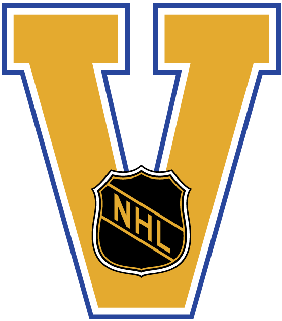 National Hockey League Logo Misc Logo (2003/04-2006/07) - The NHL Vintage program - this logo was used on various vintage NHL merchandise. During the 2003-2004 NHL season, teams such as the NY Rangers, Boston Bruins, Montreal Canadiens, Vancouver Canucks, LA Kings, Edmonton Oilers, and the St Louis Blues took part in the NHL vintage jersey program, where these teams would wear vintage home and road uniforms for a handfull of games each. All vintage jerseys worn during that season had this logo embroidered as a patch on the upper right shoulder of each jersey. SportsLogos.Net