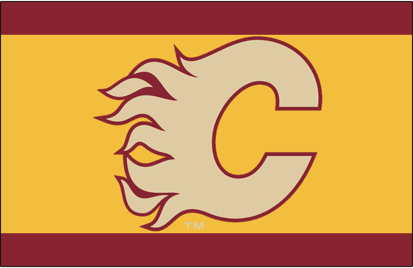 Calgary Flames Throwback Logo National Hockey League Nhl Chris Creamer S Sports Logos Page Sportslogos Net