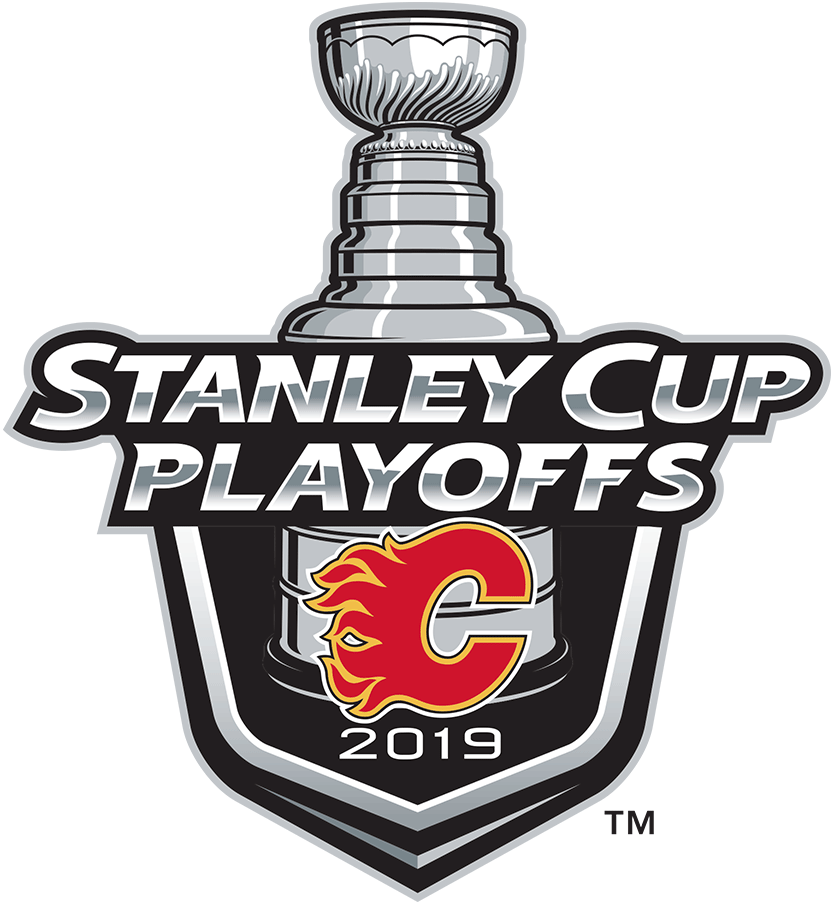 Calgary Flames Logo Event Logo (2018/19) - Calgary Flames 2019 Stanley Cup Playoffs Logo SportsLogos.Net