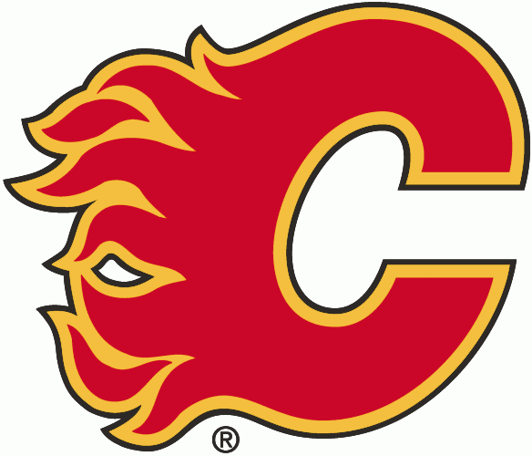 Calgary Flames Logo Primary Logo (1994/95-2019/20) - Flaming red C with yellow and black outlines SportsLogos.Net