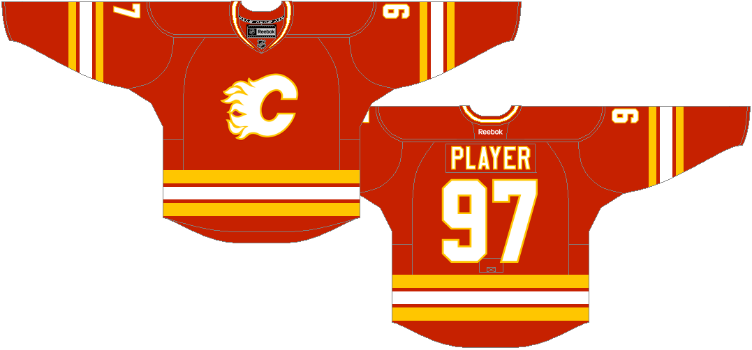 Calgary Flames Uniform 29