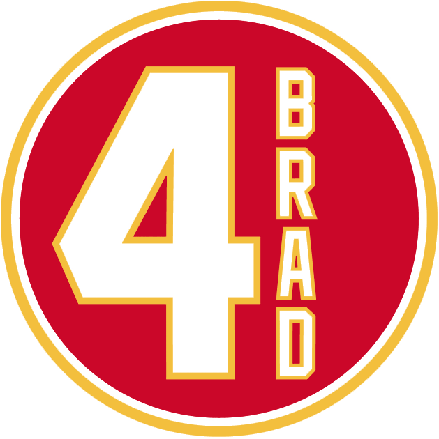 Calgary Flames Logo Memorial Logo (2011/12) - The Calgary Flames paid tribute to former player Brad McCrimmon with this logo that was worn as a jersey patch for one game versus the Detroit Red Wings on Tuesday January 31, 2012. Brad McCrimmon helped the Flames win the Stanley Cup in 1989, served as team captain in 1989-90, and also spent three years as an assistant coach with the Flames. McCrimmon was among the people killed in the tragic plane crash in Yaroslavl, Russia on September 7, 2011 that claimed the lives of the entire Lokomotiv Yaroslavl KHL hockey team. SportsLogos.Net