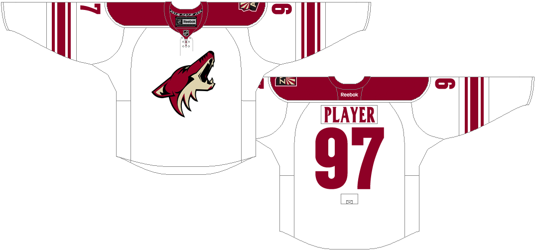 Arizona Coyotes Uniform Light Uniform (2014/15) -  SportsLogos.Net