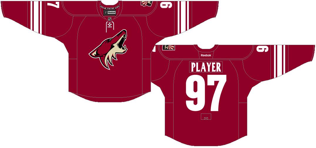 Arizona Coyotes Uniform Dark Uniform (2014/15) -  SportsLogos.Net